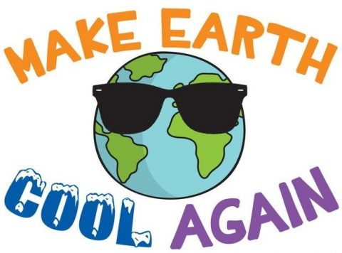 Logo Make Earth Cool Again